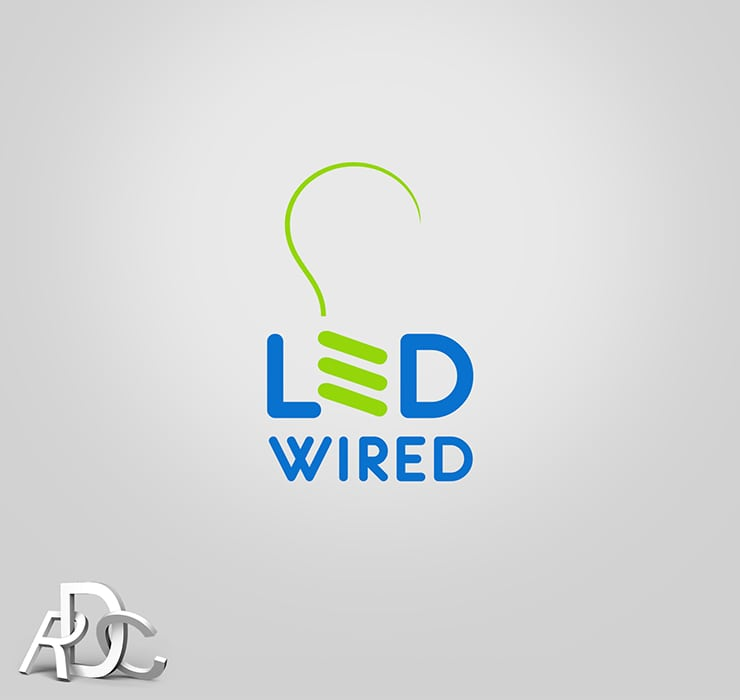 Logo design wired wire center led wired rdc design group rh rdcdesigngroup com logo design free do it yourself logo design write up solutioingenieria Gallery